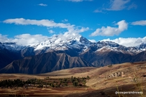 Sacred Valley nr Cusco Peru By Jonathan Cowper-Andrewes