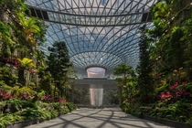 Safdie Architects sets a new standard for community-centric airport design with the opening of Jewel Changi Airport