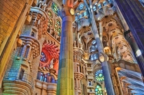 Sagrada Familia Barcelona Not my picture but I love it