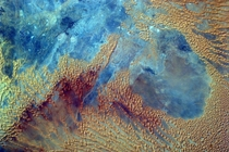 Sahara Desert From the Space Stations EarthKAM