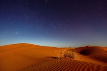 Sahara Morocco at night by Sergey Pesterev