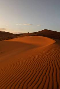 Sahara Sand Dunes in Morocco