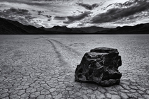 Sailing Stones Death Valley CA