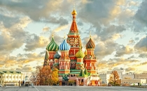 saint basils cathedral in Russia