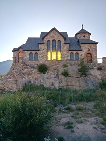 Saint Catherines Chapel on the Rock Allenspark Colorado designed by Jacques Benedict