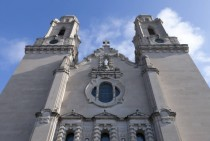 Saint Cecilias Cathedral Designed by Thomas Rogers Kimball started in  and finished in  it is one of the top ten largest cathedrals in the United States