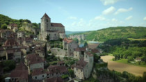 Saint-Cirq Lapopie France Still from a video I made link in comments