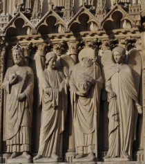 Saint Denis - Headless Statue - Notre Dame de Paris