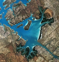 Saint George Basin Australia as seen from ALOS satellite