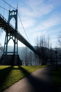 Saint Johns Bridge -- Portland OR