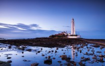 Saint Marys Lighthouse Whitley Bay UK  photo by Fuzzypiggy