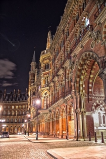 Saint Pancras Station London England