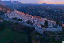 Saint-Paul-de-Vence and its Vauban fortifications in Provence France