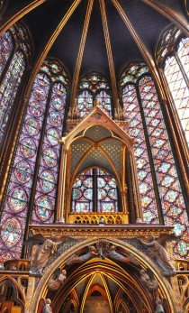 Sainte-Chapelle in Paris France