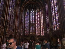 Sainte chapelle nd floor beautiful glass walls