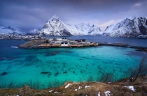Sakrisy is Lilliput among the fishing villages of the Lofoten Islands Norway