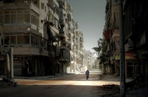 Salaheddin neighborhood of Aleppo Syria