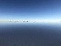 Salar de Uyuni Bolivia felt like being in a dream