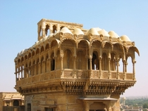 Salim Singh ki haveli in Jaisalmer India