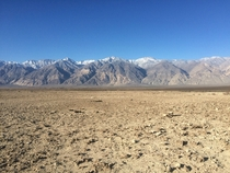 Saline Valley in Death Valley National Park