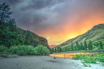 Salmon River Idaho After The Storm x OC