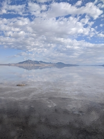 Salt Flats in Northwest Utah