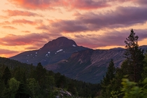 Saltfjellet-svartisen national park in Norway photographed last night at pm