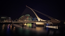 Samuel Beckett Bridge Dublin Ireland  by Deane McDermott