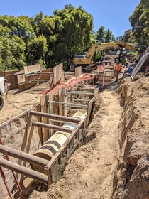 San Andreas Pipeline  Replacement San Bruno California