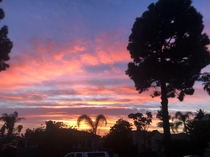 San Diegos cotton candy sky