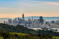 San Francisco and Alcatraz from Angel Island