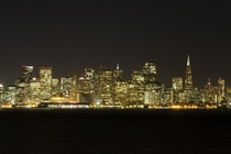 San Francisco at Night from Angel Island