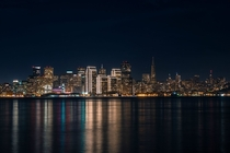 San Francisco at nighttime