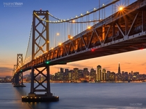 San Francisco Bay Bridge  by Mohanram Sathyanarayanan