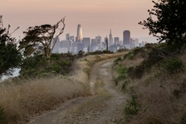 San Francisco from Angel Island State Park