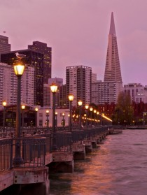 San Francisco from Pier  this morning -