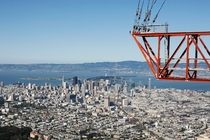 San Francisco from the top of the Sutro Tower