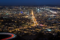 San Francisco from Twin Peaks  by Dieter Lier x-post rUnitedStatesofAmerica