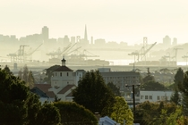 San Francisco seen from Oakland