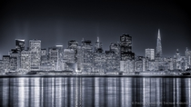 San Francisco Skyline at Night  by Thomas Marufke x-post rUnitedStatesofAmerica
