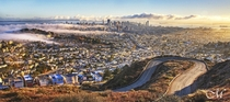 San Francisco Sunrise from Twin Peaks