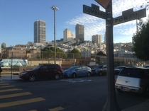 San Francisco view of Russian Hill