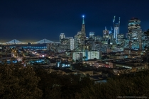 San Franciscos  Holiday Skyline - by Daniel Levy x-post from rbayarea