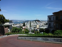 San Fransisco from Lombard Street