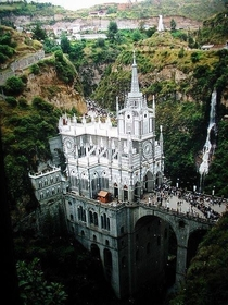 Sanctuario de Las Lajas in Columbia