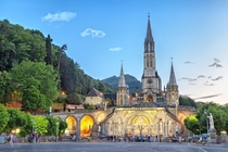 Sanctuary of Our Lady of Lourdes Hautes-Pyrnes France