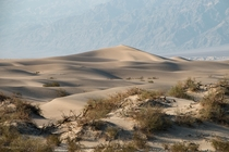 Sand Dune in Death Valleys
