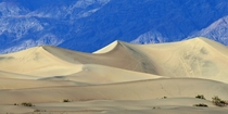 Sand dunes in Death Valley USA