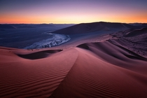 Sand Dunes in South Africa  by Hougaard Malan