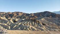 Sandstone and silestone formations in Death Valley